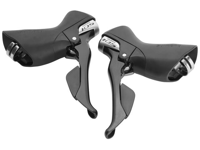 Shimano 105 ST-5800 Schalt-/Bremshebelpaar 2 x 11-fach schwarz